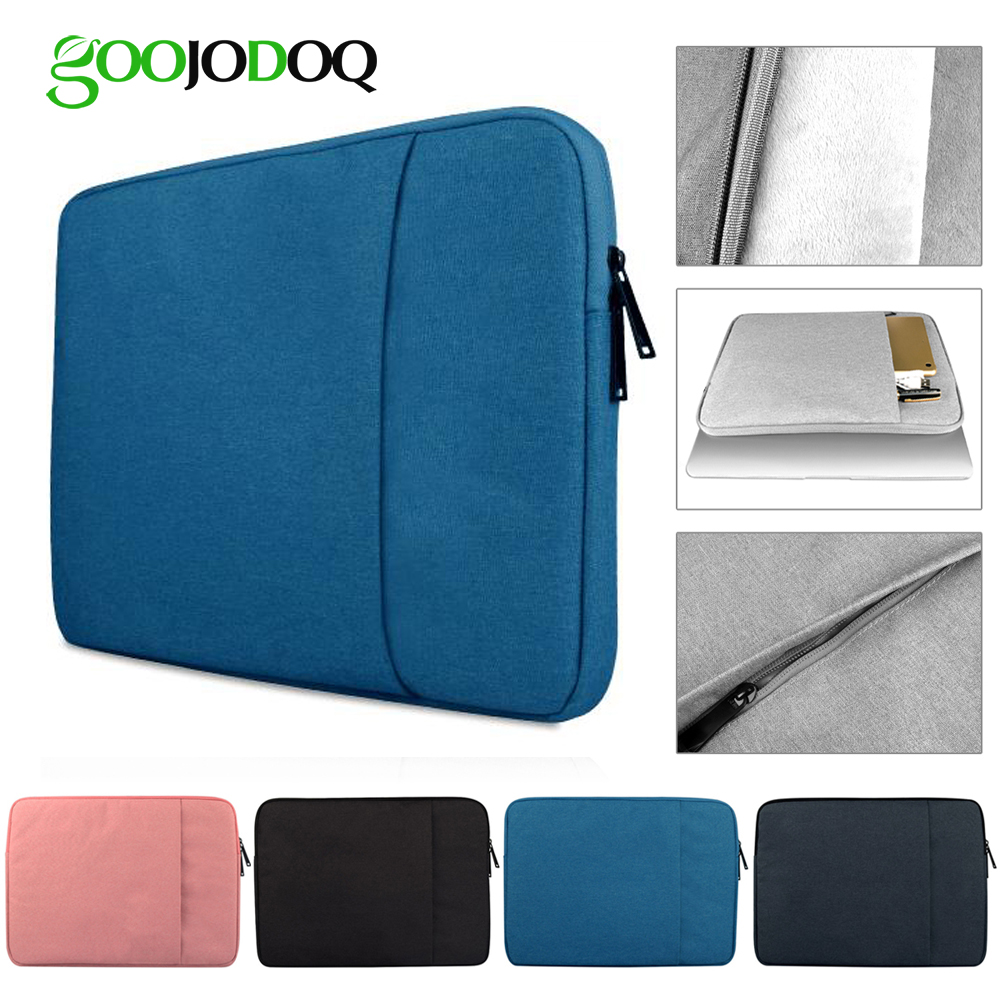 Laptop Bag for Macbook Air 13 11 12 15 Pro 13.3 15.4 Retina Case Sleeve 14 15.6 inch Notebook Bag Pouch for Xiaomi Lenovo Asus laptop sleeve case pouch bag cover for 11 13 15 inch macbook pro air notebook