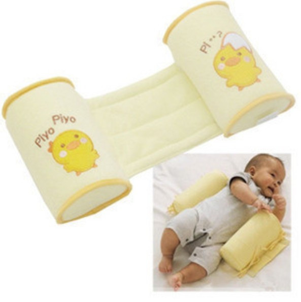 High-quality Wholesale Cute Cartoon Cotton Baby Anti Roll Pillow Massager Infant And Newborn Nursing Pillows Bedding For Kids