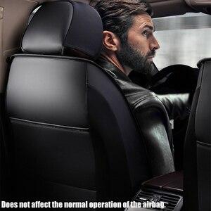 Image 5 - KADULEE מושב עור כיסוי עבור פולקסווגן גולף 4 5 6 פולקסווגן פולו סדאן 6r 9n פאסאט b5 b6 b7 tiguan אביזרי רכב מושב מכסה