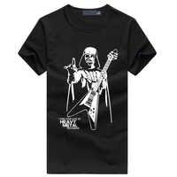 Men Darth Vader Heavy Metal printing Designer Funny T Shirts Short Sleeve Tee Creative fashion Star War t-shirts Cotton S-XXXL