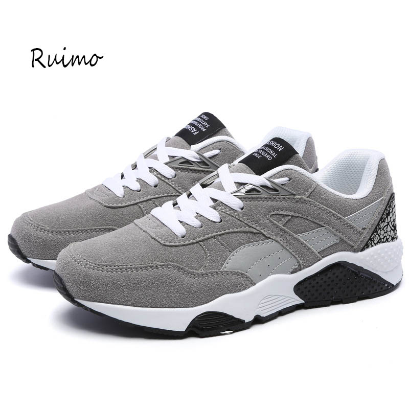Αθλητικά παπούτσια αθλητικά παπούτσια τρενάκια παπούτσια ανδρών παπούτσια καουτσούκ μόδα τάση δαντέλα-επάνω τζόκινγκ έξω για μια βόλτα γυναικεία παπούτσι μαύρο επίπεδο τακούνι