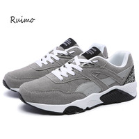 Sports Shoes Sneakers Running Shoes Men Shoes Rubber Sole Trend Lace up Jogging Outside for a Walk Women Shoe Black Flat heel