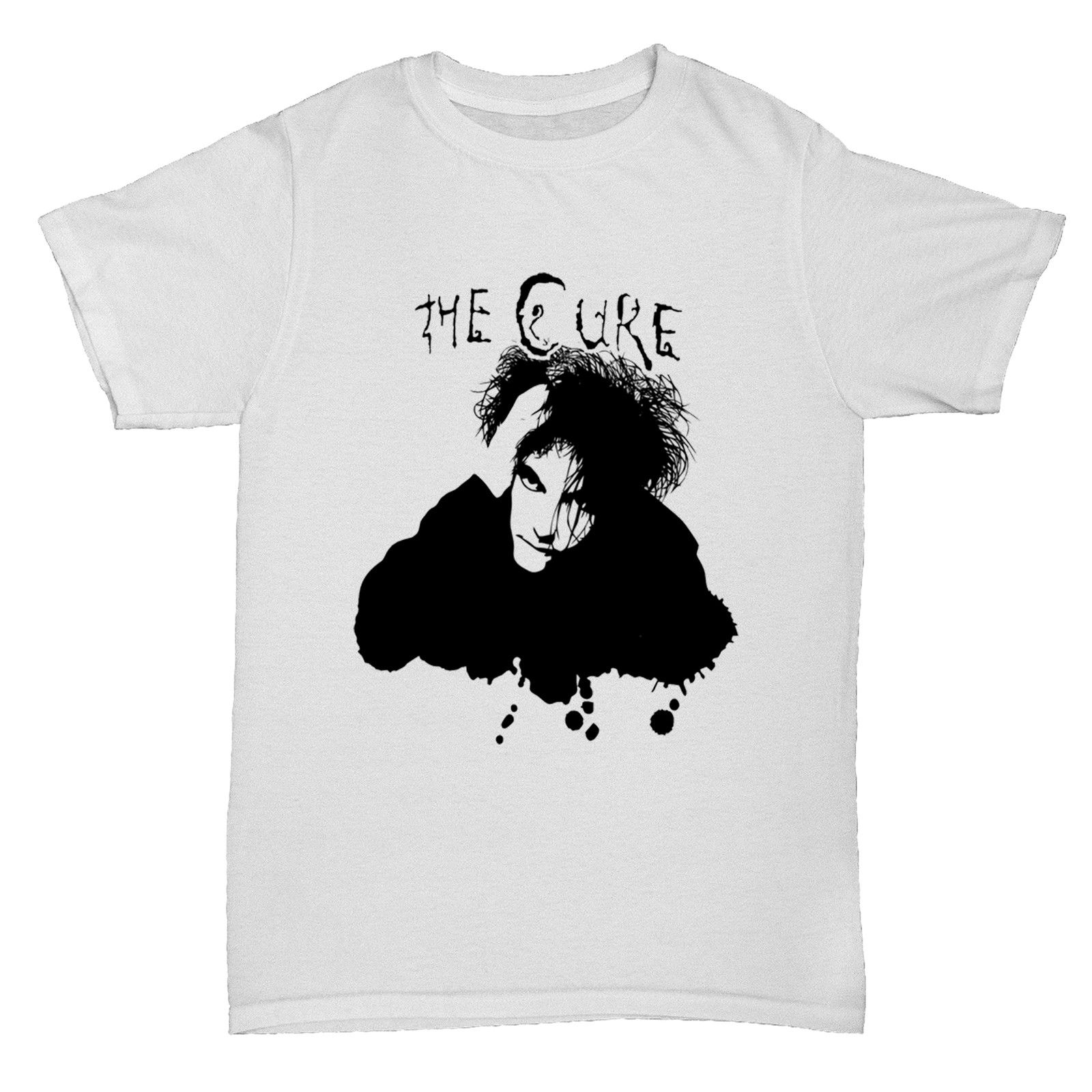 THE CURE MUSIC ROCK BAND INSPIRED CONCERT 80S 90S POP INDIE MUSIC RETRO T Shirt Cool Casual pride t shirt men Unisex New image