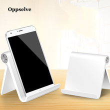 Oppselve Luxury Mobile Phone Holder Stand For iPhone Xiaomi Samsung Foldable Metal Desk Tablet Cell