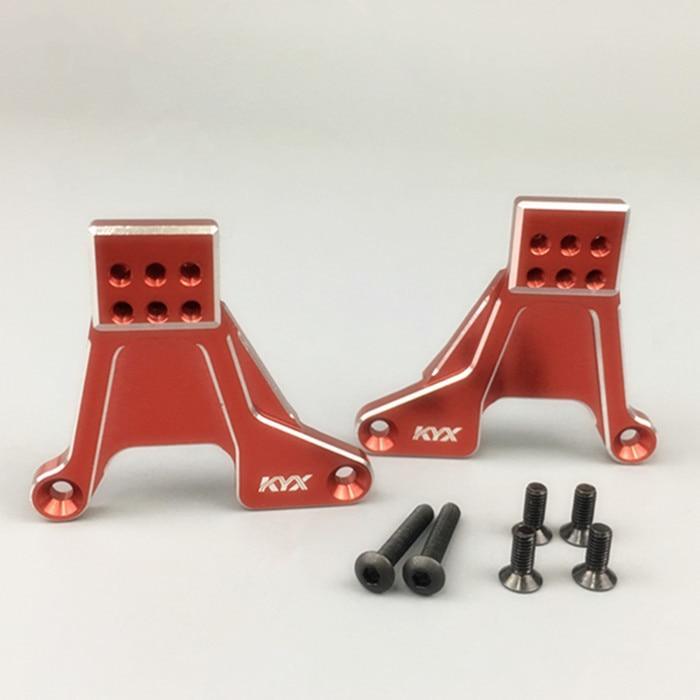 1/10 Climbing RC CAR Part Traxxas TRX-4 CNC Alloy Porous Seat Adjustable Rear Shock Absorber Bracket Seat