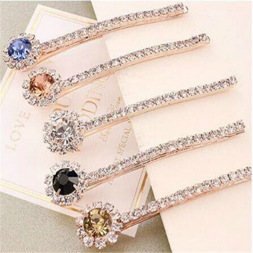 Korean Version Of The New Hair Accessories Hairpin Hairpin Side Folder Word Folder Wholesale