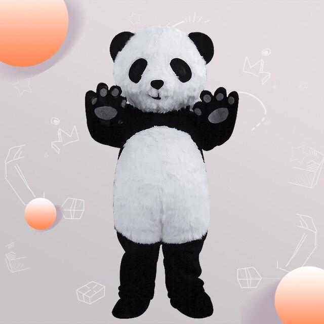 Adult Chinese Panda Animal Mascot Costume Bear Cartoon Hot Sale Outfit Dress