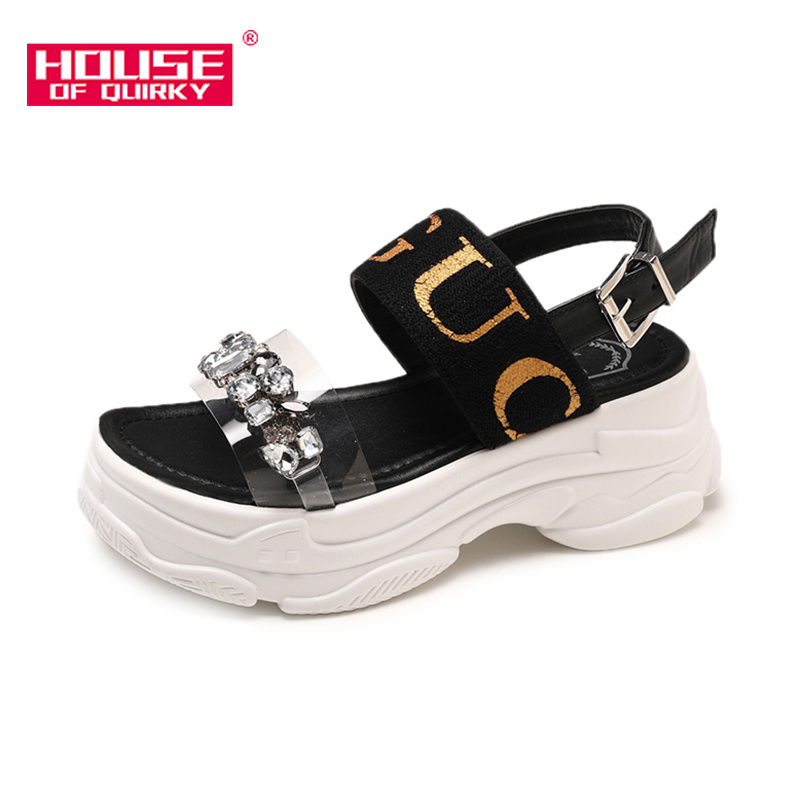 2019 Summer New Fashion Shoes Women Open-toed Leisure Sandals Comfortable Platform Shoes Outdoor Outdoor Work Shoes Size35-392019 Summer New Fashion Shoes Women Open-toed Leisure Sandals Comfortable Platform Shoes Outdoor Outdoor Work Shoes Size35-39