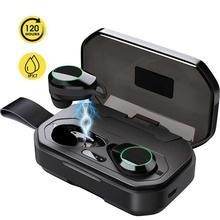 X6 TWS Bluetooth наушники с микрофоном беспроводные Спортивные Bluetooth наушники бас наушники для бега для Iphone Xiaomi huawei samsung