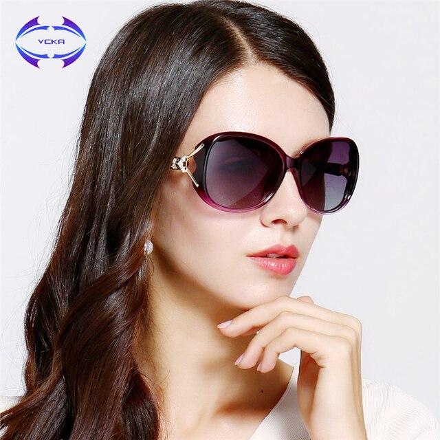 f88c5dacc9e VCKA Brand HD Polarized Sunglasses Women Luxury New Fashion Sun Glasses  Polaroid Lens Women Glasses Designer Hot Sale