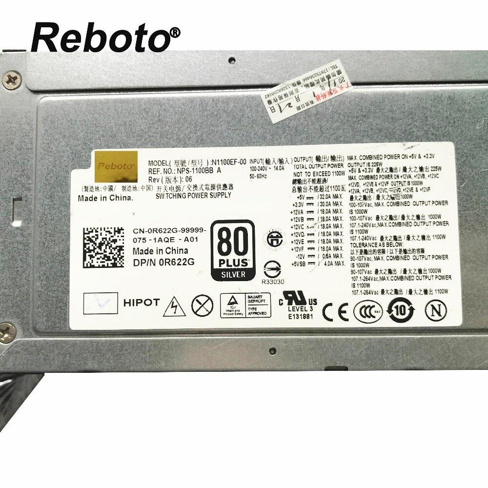 ใช้ต้นฉบับสำหรับ DELL T7500 Series แหล่งจ่ายไฟ N1100EF 00 NPS 1100BB CN 0R622G 0R622G 100% ทดสอบ Fast Ship-ใน สายเคเบิลคอมพิวเตอร์และขั้วต่อ จาก คอมพิวเตอร์และออฟฟิศ บน AliExpress - 11.11_สิบเอ็ด สิบเอ็ดวันคนโสด 1