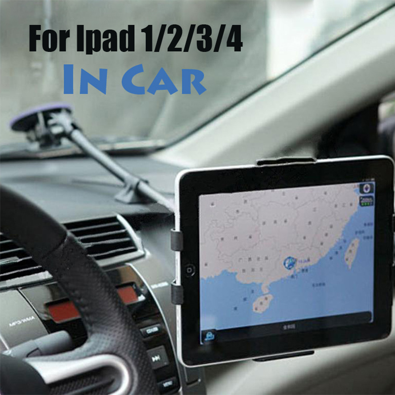 Ipad car display mount Tablet security stand holder metal case rack protect for Ipad 2/3/4 with 360 rotation adjustable tuble partol black car roof rack cross bars roof luggage carrier cargo boxes bike rack 45kg 100lbs for honda pilot 2013 2014 2015