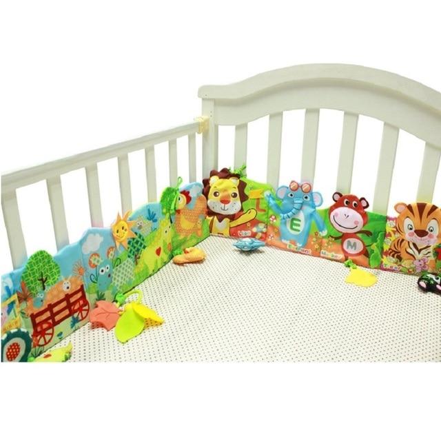 infant activity book cartoon animal soft baby educational toy cloth