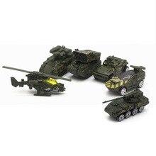 5 Pcs/Set 1:64 Scale Mini Diecast Toy Vehicles