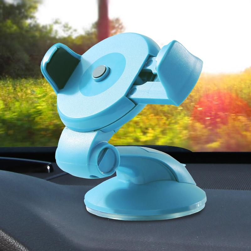 Анти-скольжения Универсальный 360 Вращающийся телефон Автомобильный держатель Стенд кронштейн для смарт-мобильный телефон