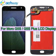 ORIGINAL LCD Für Motorola Moto G5S PLUS LCD Display G5S XT1792 LCD Touch Screen Digitizer 5.2