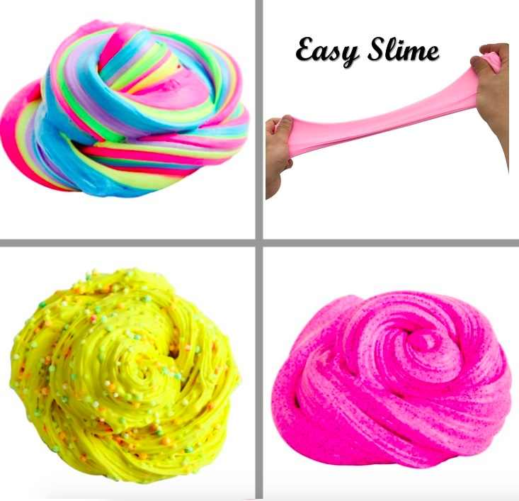 20g Macaron Color Fluffy Slime toys DIY Squishy kids Toy With Box polymer light soft Clay Modeling Clay plasticine cloud slime