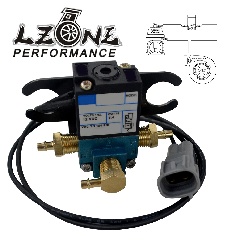 LZONE - ECU 3 Port Electronic Turbo Boost Control Solenoid Valve For Subaru WRX STI FXT 02-07 JR-ECU02