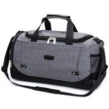 Вместительная спортивная сумка для путешествий, сумка для багажа, школьная сумка на плечо, мужская сумка для прогулок, спортивные сумки