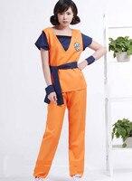 Adultos Cosplay JP Anime Dragonball sun wukong Cosplay Halloween Dress venda