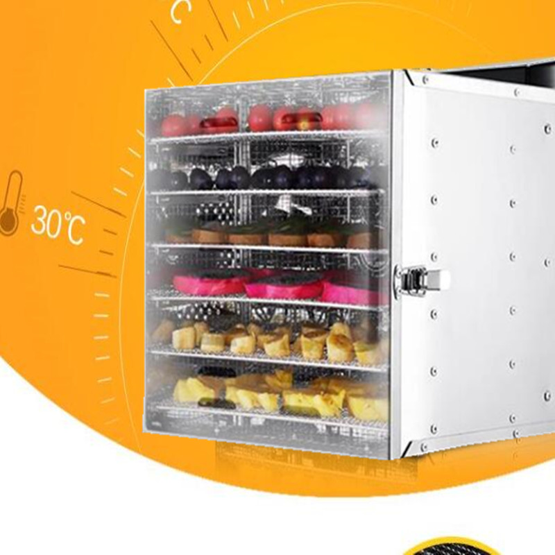 220V 6 trays intelligent food dehydrator machine fruit dryer drying machine fruits/vegetables/meat drying machine can made 110V itas1103 intelligent shoe drying machine bake shoe dryer deodorization sterilization multifunctional warm machine free shipping
