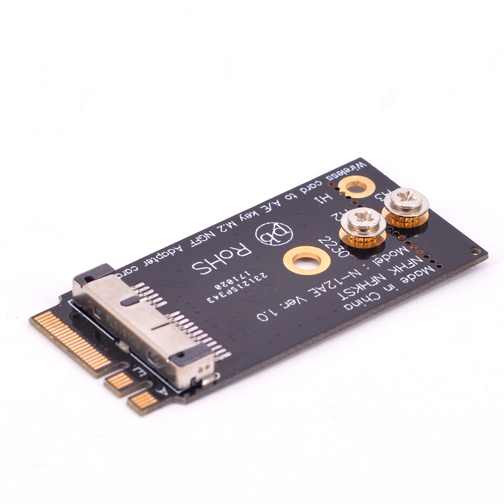 A+E Key NGFF wireless network card Adapter for Macbook