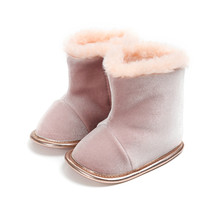 Winter Baby Shoes Super Warm Newborn Girl Cotton Boots Elegant Flat With Infant Toddler Wholesale