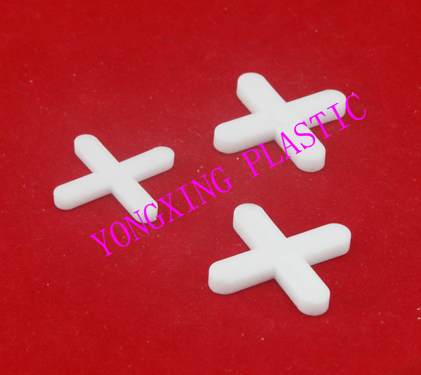 500pcs/bag 2.0mm Plastic Cross/ Tice Spacer/tracker/locating/ceramic Cross White Color Locate The Ceramic Tile