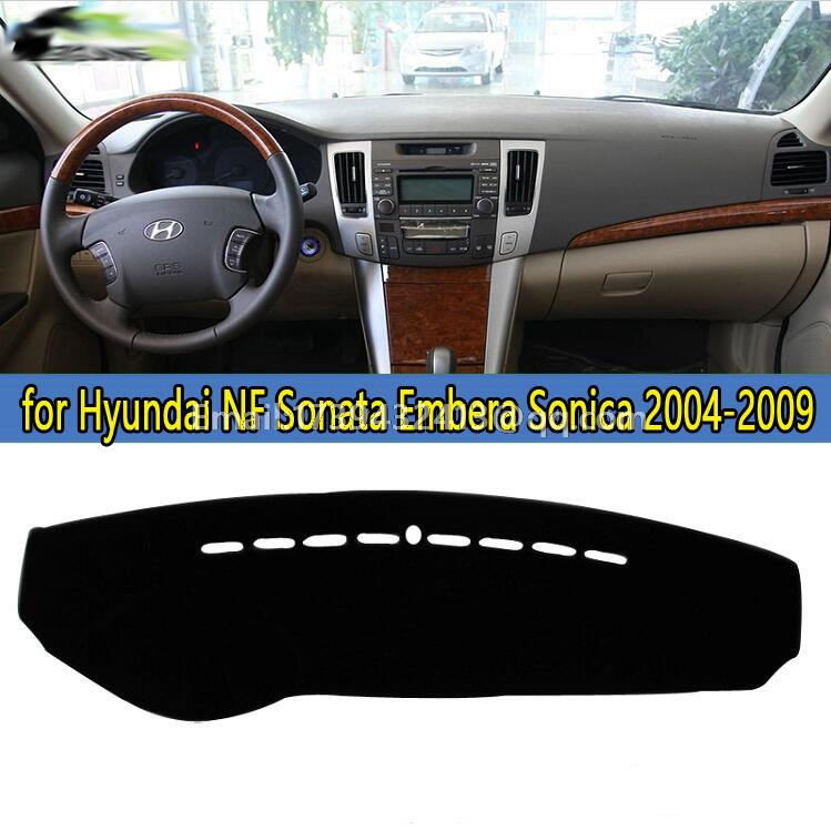 dashmats car-styling accessories dashboard cover for Hyundai NF Sonata Embera Sonica 2004 2005 2006 2007 2008 2009