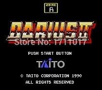Darius II 16 16-bit-md Spielkarte Für Sega Mega Drive Für Genesis