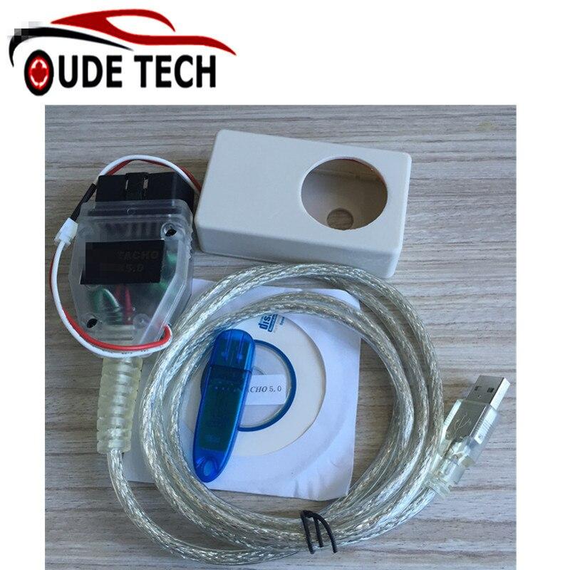 Vagtacho USB Versione V 5.0 per Tachi di VAG V5.0 Per NEC MCU 24C32 o 24C64 Spedizione Gratuita