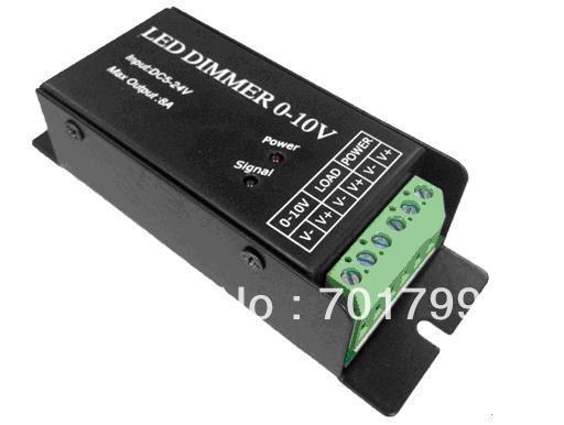 1 channel 0-10V constant voltage led dimmer;DC5-24V input,8A output