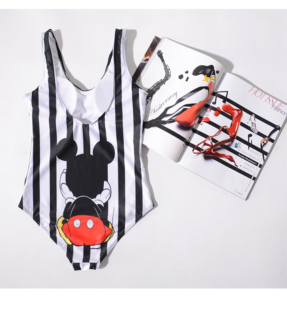 17 Pattern Cartoon Styles Women One Piece Swimsuit 3D Print Swimwear One-Piece Suits full suit for swimming  one piece swimsuit 16