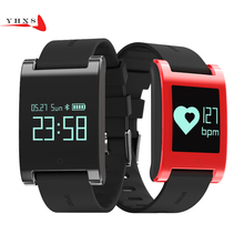 Yhxs сердечного ритма Смарт часы с кровью Давление монитор IP67 Водонепроницаемый Шагомер фитнес-Браслет smartwatch для IOS Android