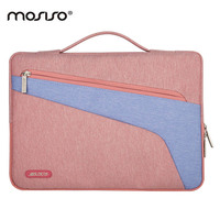 MOSISO 13 3 Canvas Laptop Briefcase Bag For Macbook Asus Dell 13 Inch Computer Ultrabook Notebook