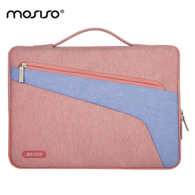 MOSISO 13.3 Canvas Laptop Briefcase Bag For Macbook/Asus/Dell 13 inch Computer Ultrabook Notebook Sleeve Case Cover Handbag