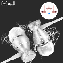 Earphones Control J9 MP3
