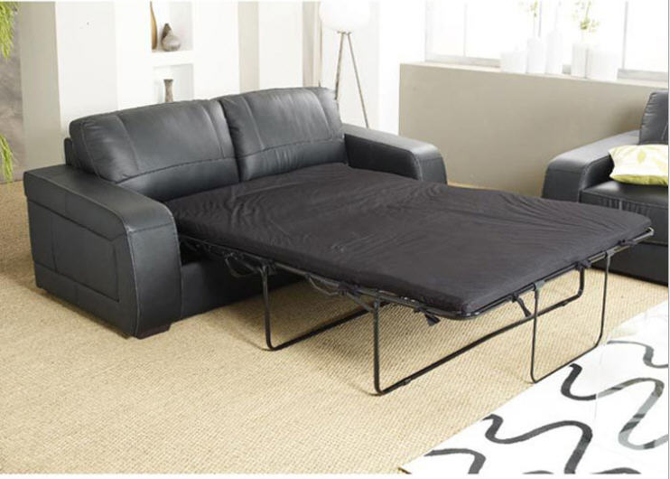 US $809.1 10% OFF|Living Room Sofa bed minimalist modern sofa / sofabed  real genuine cow leather sectional sofa muebles de sala moveis para casa-in  ...