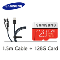 Оригинальный samsung карты памяти Micro SD Card 128 ГБ 64 ГБ 32 ГБ microsd hc/sdxc class 10 U1 U3 EVO Plus карты памяти micro SD 32 ГБ памяти