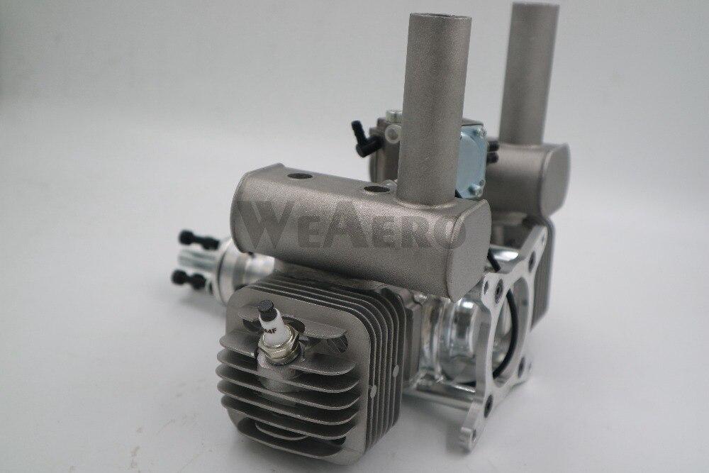 Image 5 - RCGF 60cc двухцилиндровый бензиновый/бензиновый двигатель для радиоуправляемого самолетаengine for rcgasoline engineengine for airplane  АлиЭкспресс