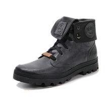ARCX Retro style Men Leather Motorcycle Boots Lapel Men Leisure Shoes Motorcycle Knight Short Boots Retro