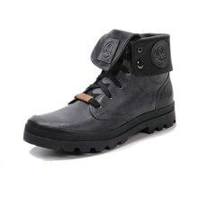Раро Ретро стиль Для мужчин кожаные мотоботы с лацканами Для мужчин Обувь для отдыха мотоциклетные рыцарские полусапожки Ретро мотоботы