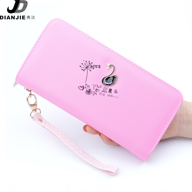 New Fashion Korean version of the long wallet women pocket money women's zipper hand bag small card new multi functional wallet richard duncan the new depression the breakdown of the paper money economy