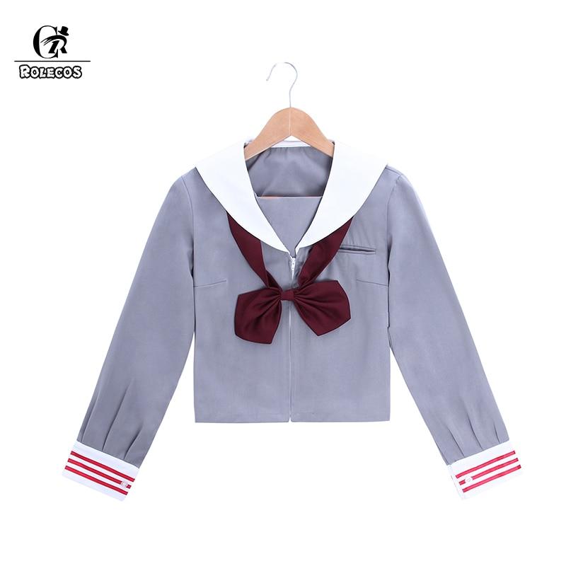 ROLECOS JK Uniform Jacket Brand Autumn Jacket Japanese School Girl Uniform Women Costumes Anime Cosplay  for Halloween Comic Con