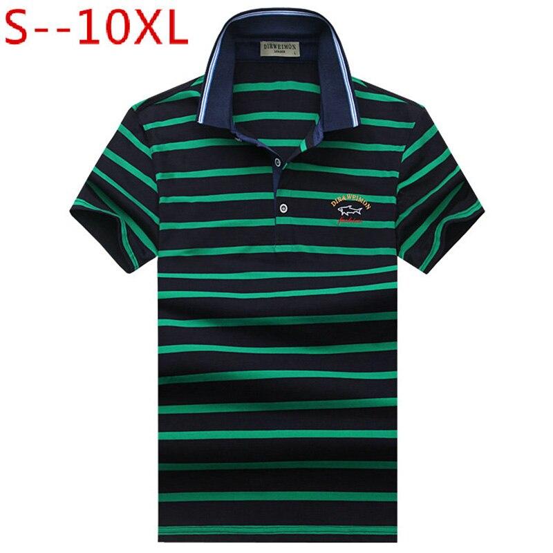 Hot Sale 2018 New Arrival Men   Polo   Shirt Fashion Good Quality Classic Striped Homme Camisa Men's   Polo   shirt T Plus Size S-10XL