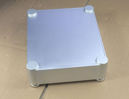 latest round aluminumal chassis power amplifier 2106T for preamp /headphone amp