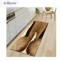 Spedizione gratuita mucca pelliccia artificiale Badkamer tappetino da bagno porta pavimento Tapete Banheiro tappeto per Toliet antiscivolo Alfombra Bano