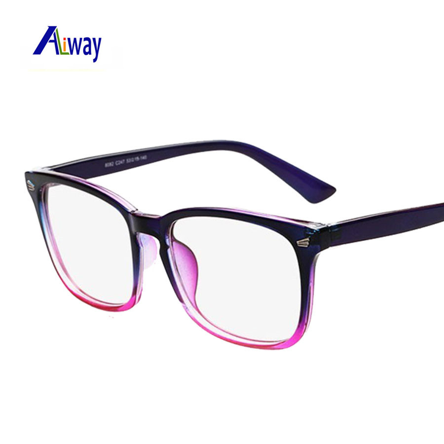2016 brand designer spectacle optical glasses frame anti