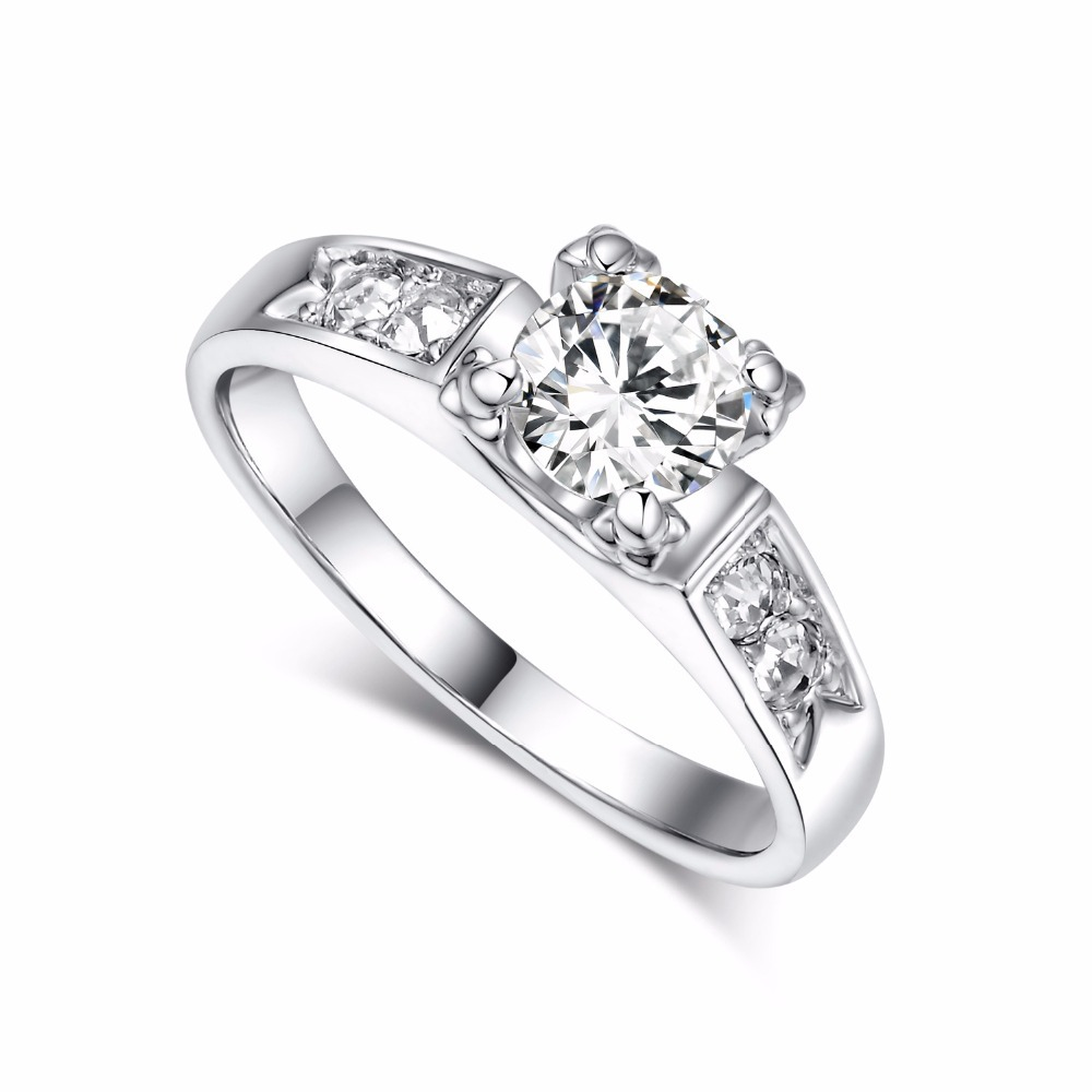 Brand Top Titanium Steel Love Rings for Women Men Couples Anel Cubic Zirconia Wedding Rings Bands Logo Aneis Anillos Bague RB051
