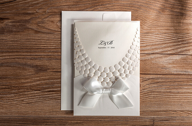 Aliexpress Buy White Wedding Invitations Unique Wedding – Unique Invitation Card